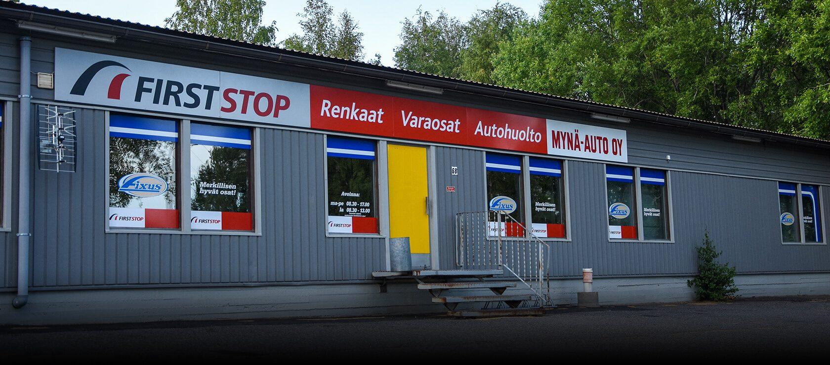 first stop-mynämäki